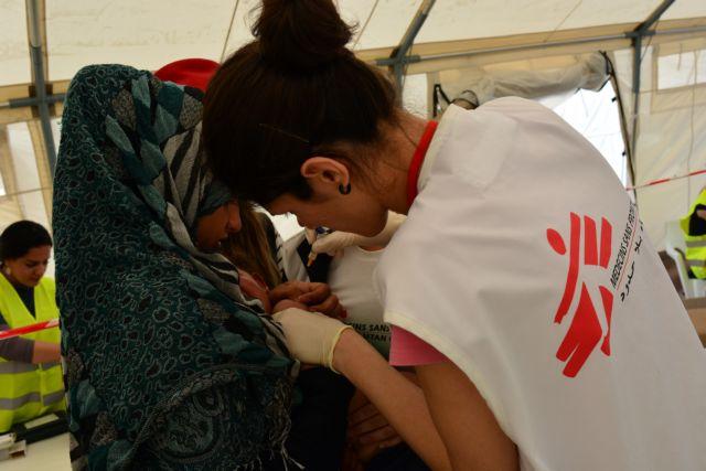 Ηρεμία στην Ειδομένη, επέστρεψαν οι Γιατροί Χωρίς Σύνορα   tanea.gr