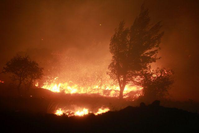 Υπό μερικό έλεγχο η φωτιά στον Ασπρόπυργο | tanea.gr
