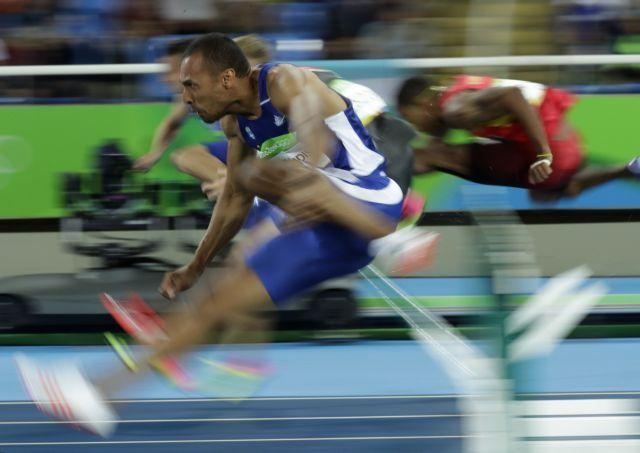 Στον ημιτελικό των 110μ. εμπόδια ο Δουβαλίδης με 13.41 | tanea.gr