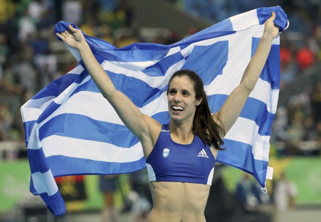 Η Κατερίνα Στεφανίδη κορυφαία αθλήτρια της Ευρώπης για τον Αύγουστο | tanea.gr
