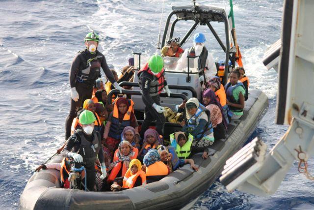 Συνολικά 20 επιχειρήσεις διάσωσης 2.400 μεταναστών σε μία ημέρα | tanea.gr