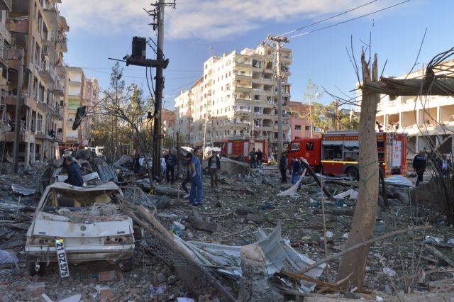 Η ISIS, όχι οι Κούρδοι, πίσω από το Ντιγιάρμπακιρ   tanea.gr