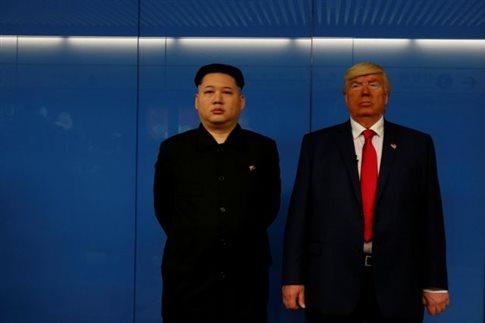 Ντόναλντ Τραμπ και Κιμ Γιονγκ Ουν... συναντήθηκαν στο Χονγκ Κονγκ | tanea.gr