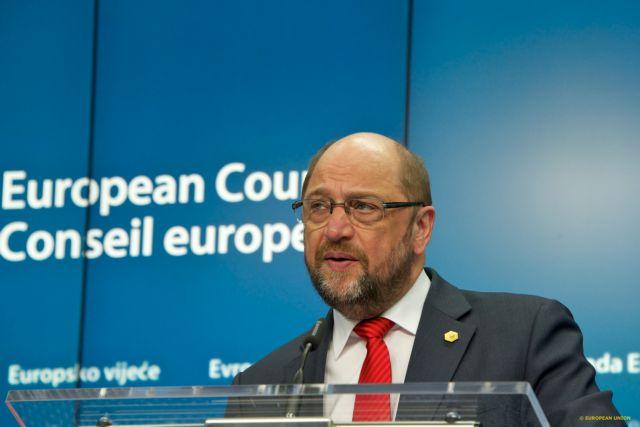 Μάρτιν Σουλτς: «Eπικίνδυνη φλυαρία το Grexit» | tanea.gr