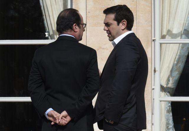Ολάντ: Η Γαλλία έκανε τη Γερμανία να αντιληφθεί το κόστος του Grexit | tanea.gr