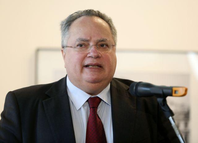 Στις Βρυξέλλες για το Συμβούλιο Εξωτερικών Υποθέσεων ο Κοτζιάς   tanea.gr