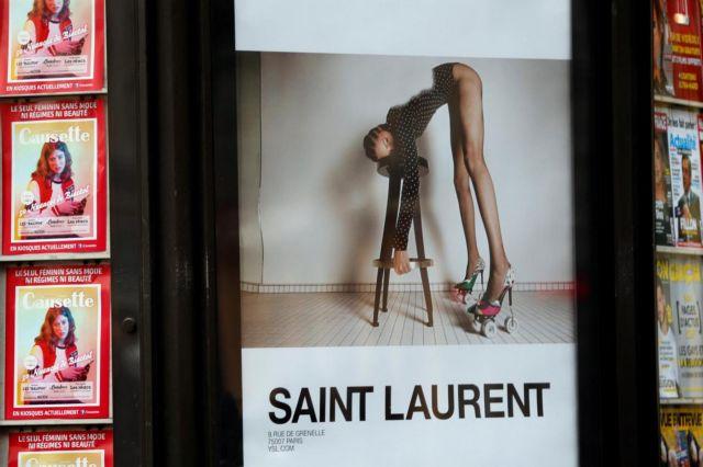Γαλλία: Σφοδρές αντιδράσεις για τη νέα καμπάνια του οίκου Yves Saint Laurent | tanea.gr