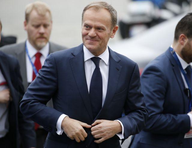 Επανεξελέγη ο Τουσκ στο τιμόνι του Ευρωπαϊκού Συμβουλίου | tanea.gr