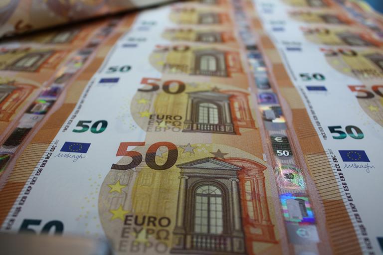 50 ευρώ: Νέο χαρτονόμισμα - περισσότερη ασφάλεια | tanea.gr