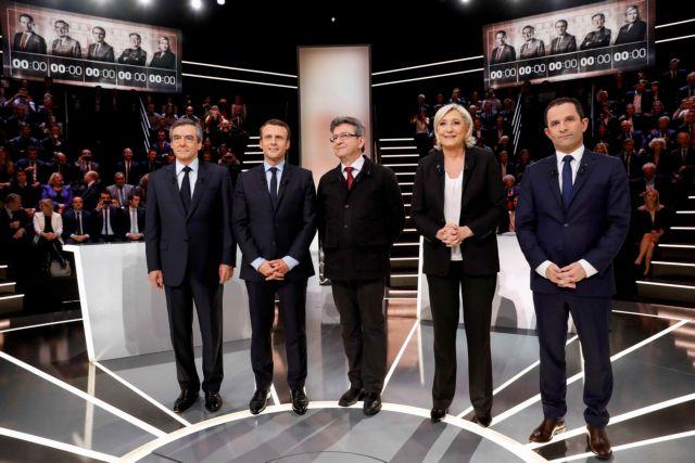 Γαλλία: Ο Μακρόν κέρδισε τις εντυπώσεις στο πρώτο ντιμπέιτ μεταξύ των υποψηφίων | tanea.gr