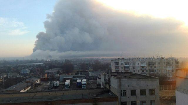 Ουκρανία: Εκρηξη σε αποθήκη πυρομαχικών | tanea.gr