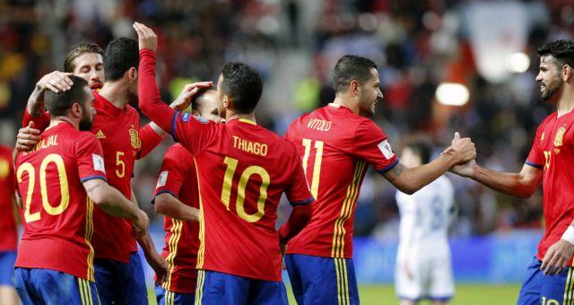 Προκριματικά Μουντιάλ: Νίκες για Ισπανία και Ιταλία   tanea.gr