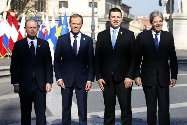 Στο Καπιτώλιο οι ευρωπαίοι ηγέτες για την επετειακή Σύνοδο Κορυφής   tanea.gr