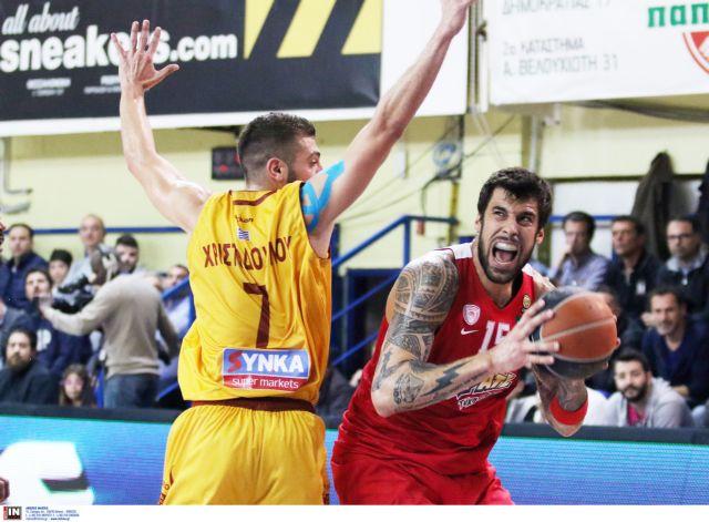 Α1 μπάσκετ: Νίκη του Ολυμπιακού στο Ρέθυμνο | tanea.gr
