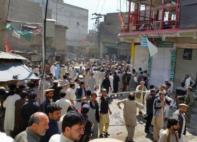 Πακιστάν: 22 νεκροί και 70 τραυματίες από έκρηξη | tanea.gr