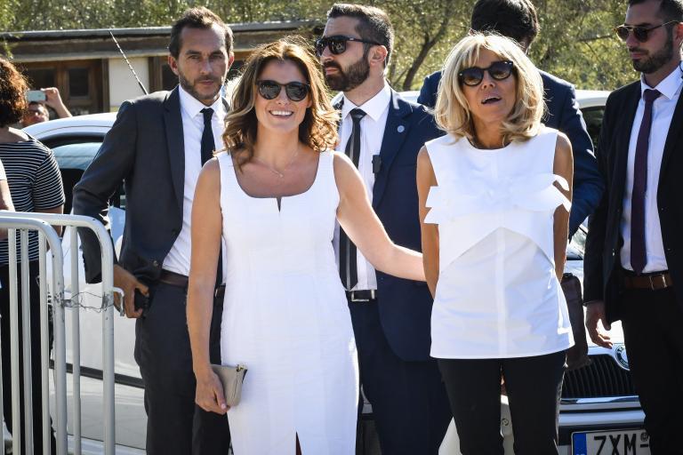 Στην Ακρόπολη ξεναγήθηκε η Μπριζίτ Μακρόν | tanea.gr