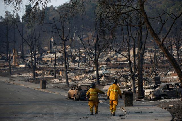 Καλιφόρνια: Βιβλική καταστροφή από τις φονικότερες πυρκαγιές στην ιστορία της | tanea.gr