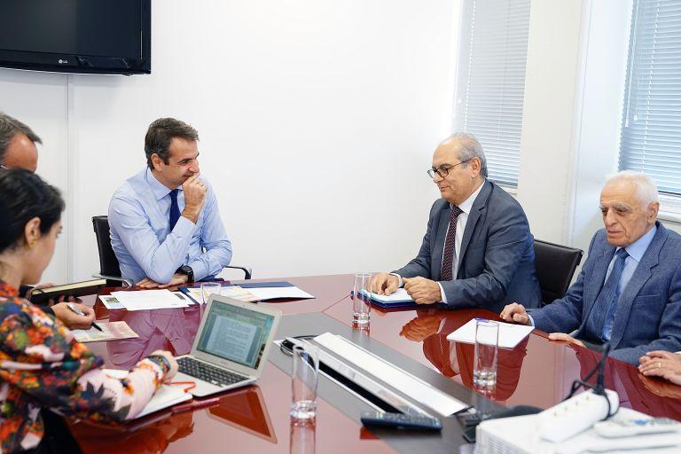Συνάντηση Μητσοτάκη με το ΔΣ της ΠΟΜΙΔΑ | tanea.gr
