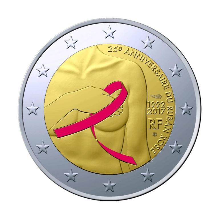 Συλλεκτικό κέρμα των 2 ευρώ στη μάχη κατά το καρκίνου του μαστού | tanea.gr