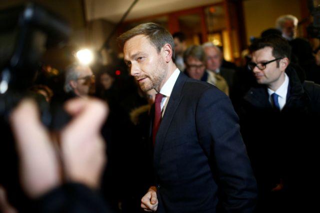 Γερμανία: Αποχώρησαν οι Φιλελεύθεροι από τις συνομιλίες | tanea.gr