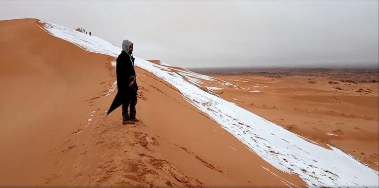Το χιόνι στην Σαχάρα έγινε το απόλυτο viral | tanea.gr