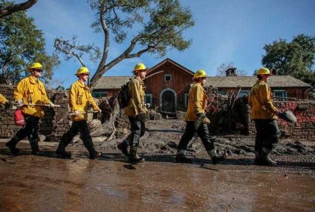 ΗΠΑ: Στους 18 οι νεκροί από την κατολίσθηση λάσπης | tanea.gr