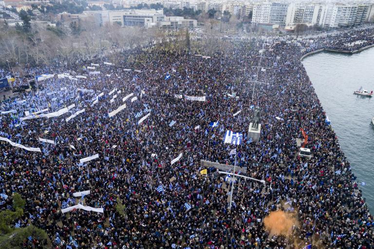 Ηχηρό μήνυμα στην κυβέρνηση από το συλλαλητήριο για το Σκοπιανό   tanea.gr