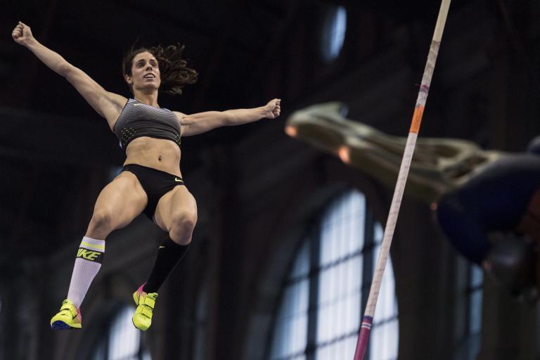 Στίβος: Η Στεφανίδη πρώτη με 4.81μ στο Παρίσι, δεύτερη η Κυριακοπούλου | tanea.gr