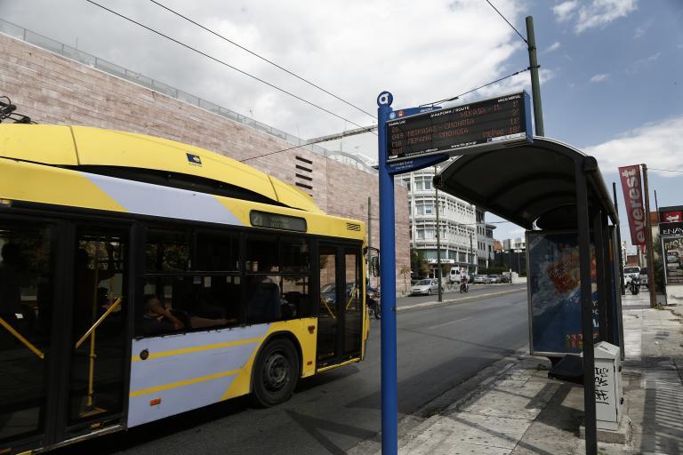 Στάση εργασίας στα λεωφορεία   tanea.gr