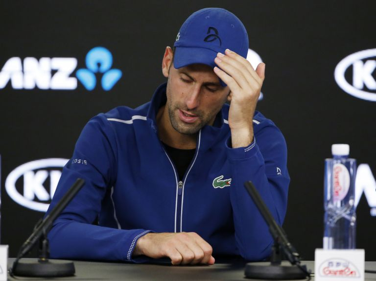 Tένις: Χειρουργήθηκε ο Τζόκοβιτς | tanea.gr