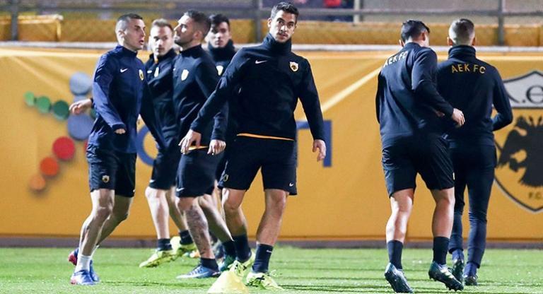 Η αποστολή της ΑΕΚ για το ματς με τον Ολυμπιακό | tanea.gr