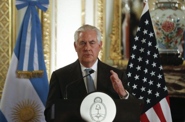 ΗΠΑ: Εξετάζουμε πετρελαϊκές κυρώσεις κατά του Μαδούρο | tanea.gr