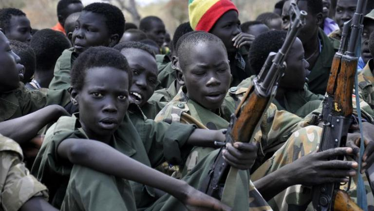 Απελευθερώθηκαν 311 παιδιά - στρατιώτες στο Σουδάν | tanea.gr