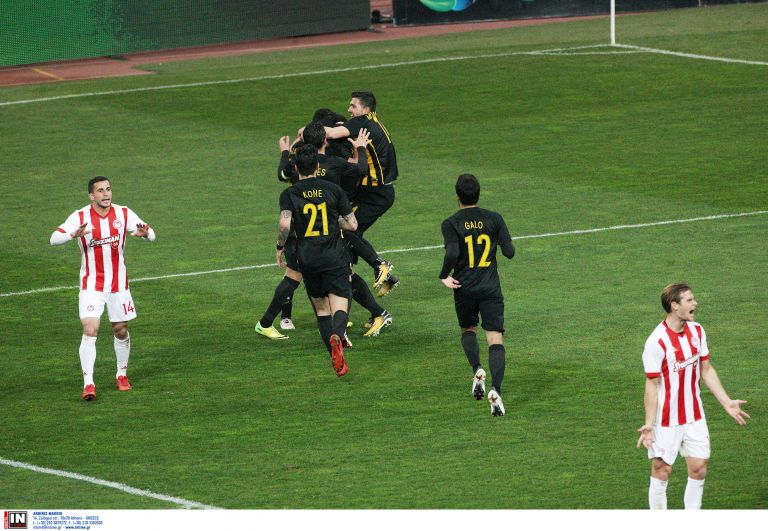 Κύπελλο: Η ΑΕΚ στα ημιτελικά με το 2-1 επί του Ολυμπιακού | tanea.gr