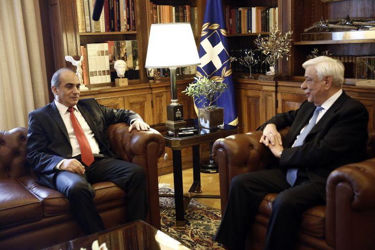 Συνάντηση Παυλόπουλου με τον πρόεδρο της κυπριακής Βουλής | tanea.gr
