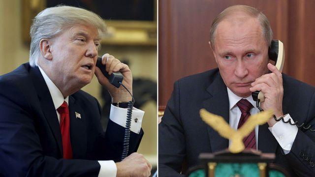 Τηλεφωνική επικοινωνία Τραμπ - Πούτιν | tanea.gr
