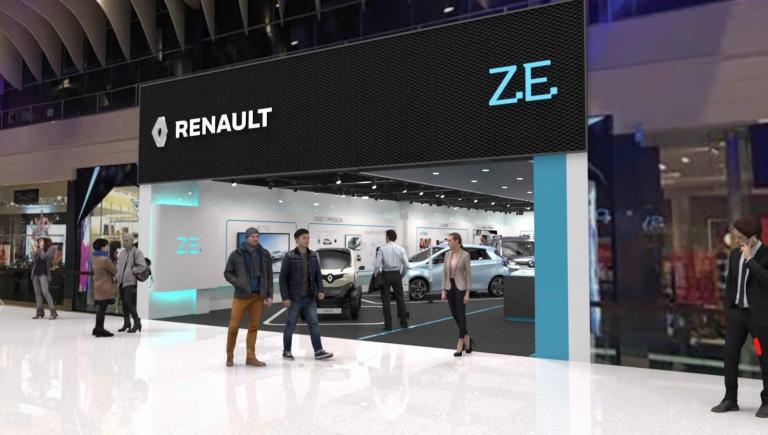 Renault: Το πρώτο κατάστημα αφιερωμένο στα ηλεκτρικά οχήματα | tanea.gr