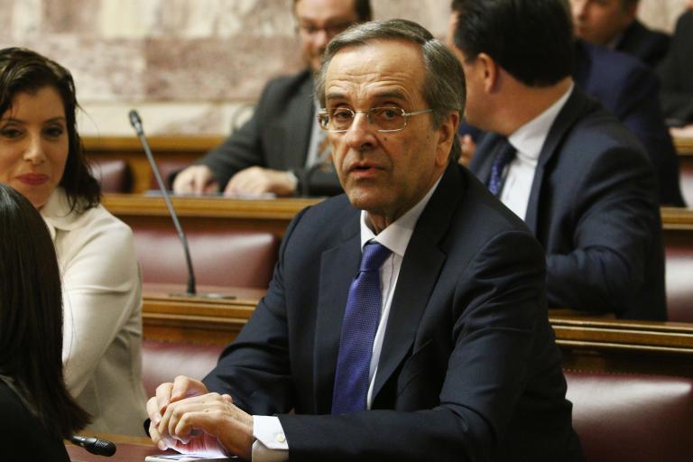 Samaras accuses Tsipras in lawsuit of masterminding plot to slander him | tanea.gr