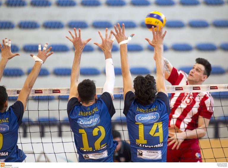 Α1 βόλεϊ : Δύσκολη νίκη για τον Ολυμπιακό | tanea.gr