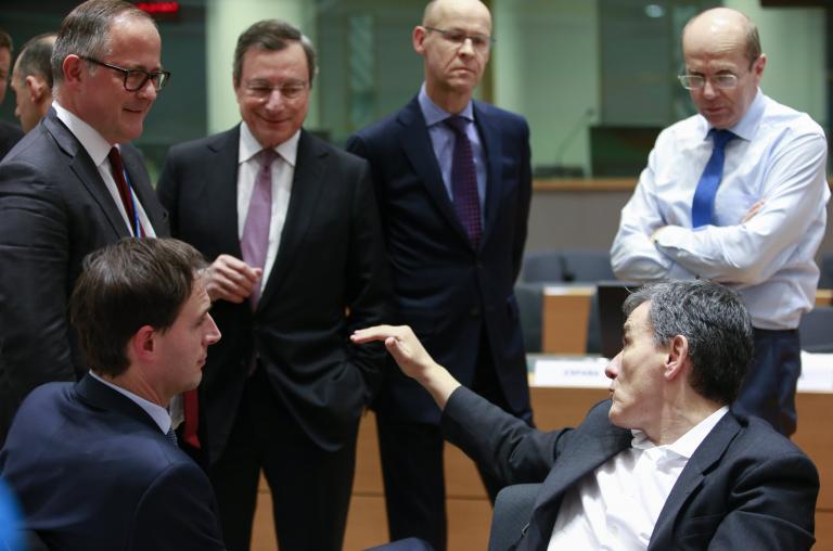 Ντράγκι: Δεν υπάρχει αντιπαράθεση με τον Τσακαλώτο | tanea.gr