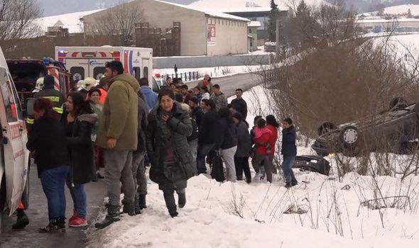 Σλοβακία: Αυτοκίνητο παρέσυρε και τραυμάτισε 12 παιδιά | tanea.gr