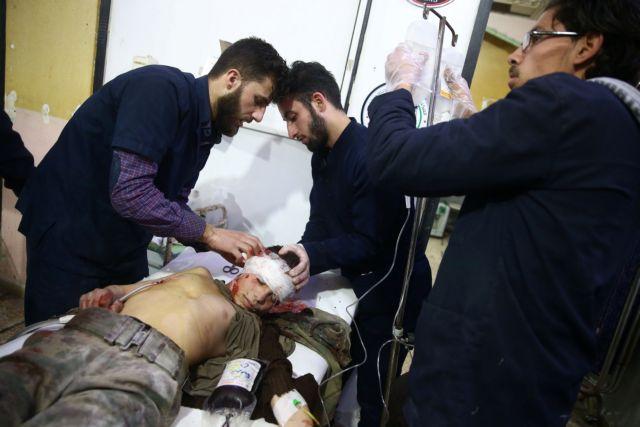 Συρία: Δεν μπορούν να μετρήσουν τους νεκρούς λόγω βομβαρδισμών | tanea.gr
