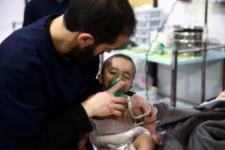 «Ψευδείς ισχυρισμοί» τα οπλοστάσια χημικών όπλων στη Συρία   tanea.gr