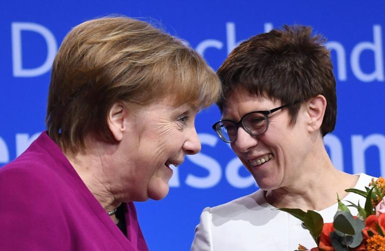 Γερμανία: Η «μίνι Μέρκελ» νέα γενική γραμματέας του CDU   tanea.gr