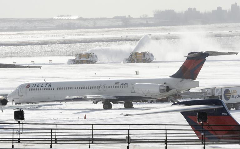 Εκλεισε λόγω κακοκαιρίας το αεροδρόμιο JFK στη Νέα Υόρκη | tanea.gr
