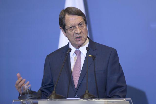 Αναστασιάδης: Αν μπει τουρκικό γεωτρύπανο θα πάμε στο ΣΑ   tanea.gr