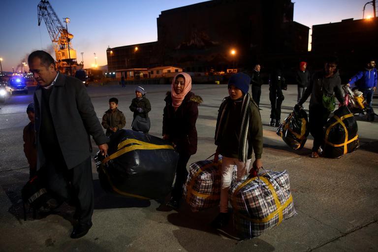 Μυτιλήνη: Αναχώρησαν 178 πρόσφυγες για τον Πειραιά | tanea.gr