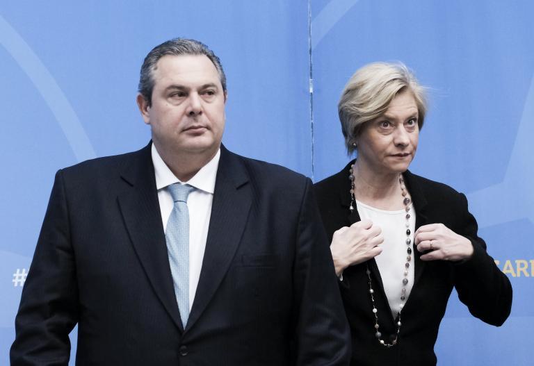Στις Βρυξέλλες ο Καμμένος για το συμβούλιο υπουργών Αμυνας του ΝΑΤΟ | tanea.gr