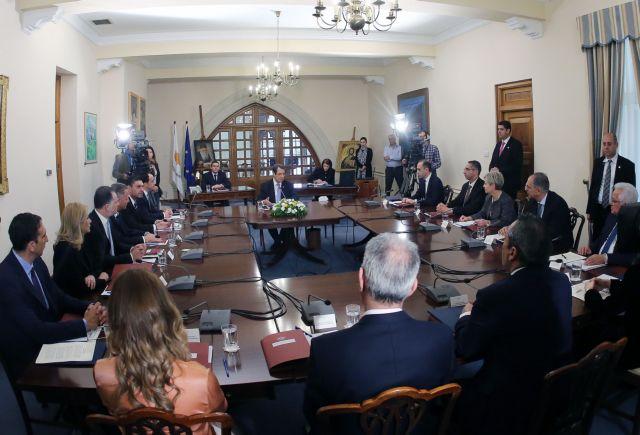Χάρτα Δεοντολογίας υπέγραψαν οι νέοι υπουργοί στην Κύπρο | tanea.gr