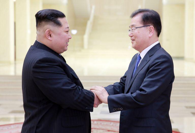 «Εκλεισε» το ιστορικό ραντεβού μεταξύ Βόρειας και Νότιας Κορέας | tanea.gr